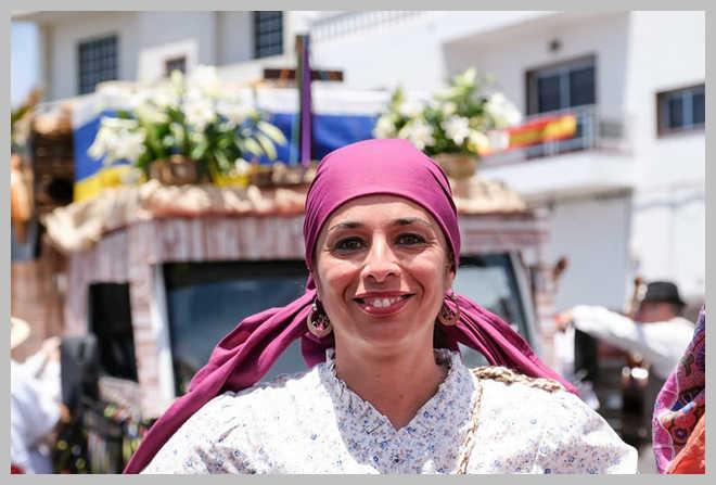 """La A.F. Estrella y Guía participo en el Festival de Las Islas """"Tradición y Folclore"""" en Arona (Tenerife)"""