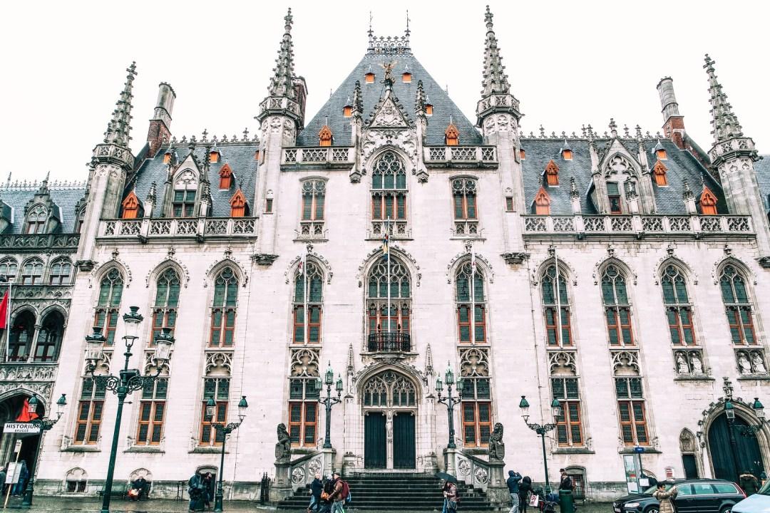 Bruges, Burg