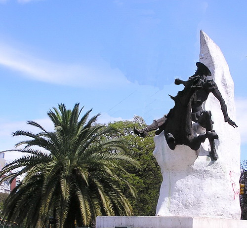 Monumento Don Quijote Buenos Aires Argentina 134