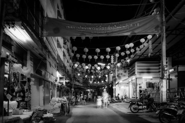 Chiang Mai / Night Market - Amphoe Mueang Chiang Mai, Chang Wat Chiang Mai, Thaïlande - 17/02/2018 19h16