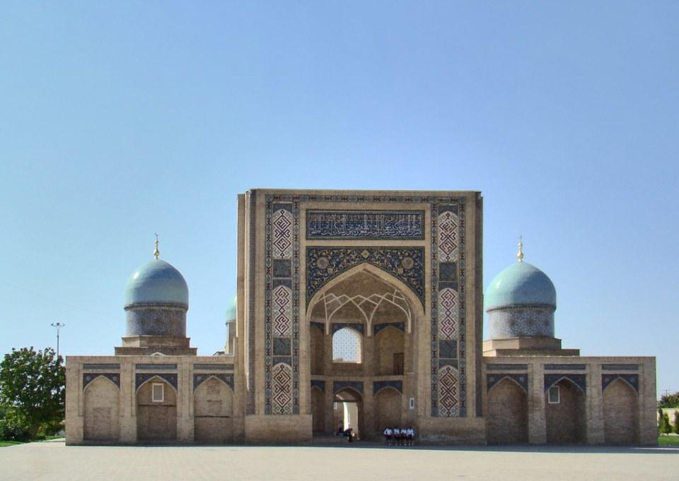 Madrasa Barak Han Complejo Khazrati Imam Tashkent Uzbekistan 10