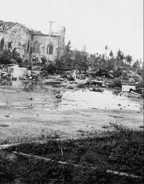 Damaged Church, 1944