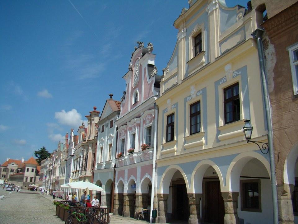 Plaza de Telc Chequia 19 Patrimonio de la Humanidad Unesco