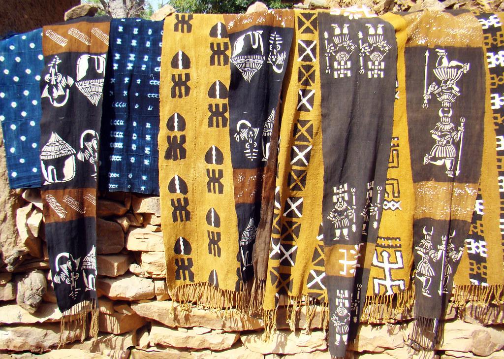 estampados en tejidos Aldea Songo Mali 02