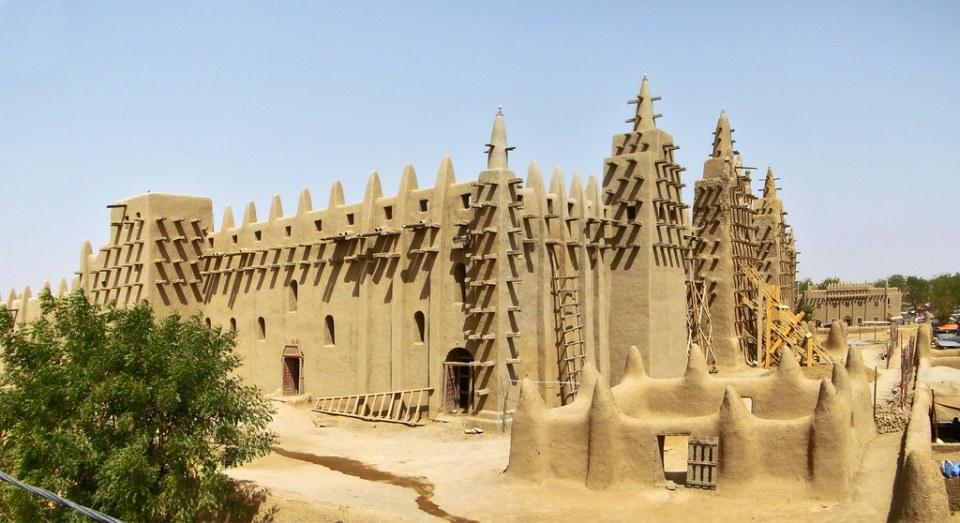 Mali Gran Mezquita de Djenne 08