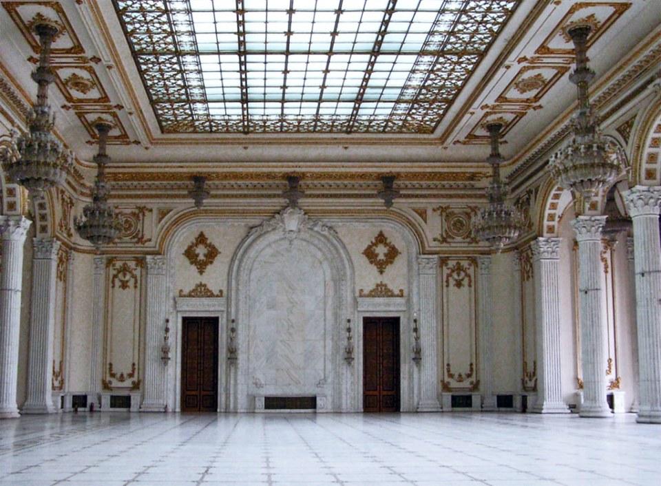 Palacio del Parlamento Bucarest Rumania 09
