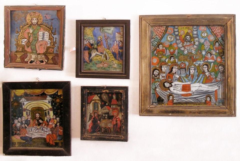 Museo de iconos en cristal en Sibiel Rumania 006