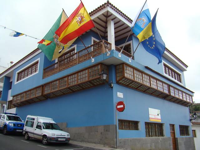 Ayuntamiento calle Leon y Castillo Valleseco isla de Gran Canaria 04