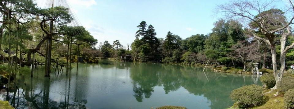 Japon Jardin Kenrokuen en Kanazawa 01