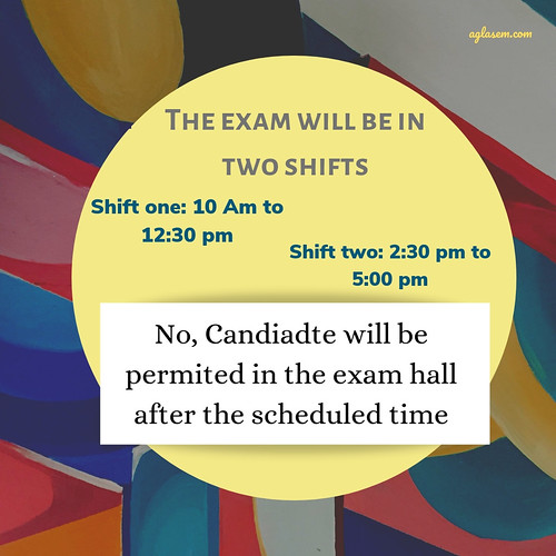 AP ICET 2019 shifts