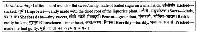 NCERT Solutions for Class 9 English Literature Chapter 11 Oh, I Wish I'd Looked After Me Teeth 3