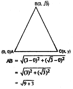RBSE Solutions for Class 10 Maths Chapter 9 Co-ordinate Geometry Q.15.1