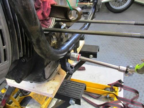 Remove Front Engine Mount Stud