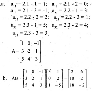 Plus Two Maths Chapter Wise Previous Questions Chapter 3 Matrices 15