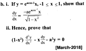 Plus Two Maths Chapter Wise Previous Questions Chapter 5 Continuity and Differentiability