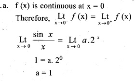 Plus Two Maths Chapter Wise Previous Questions Chapter 5 Continuity and Differentiability 16