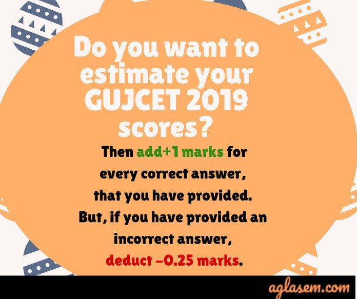 GUJCET Answer key