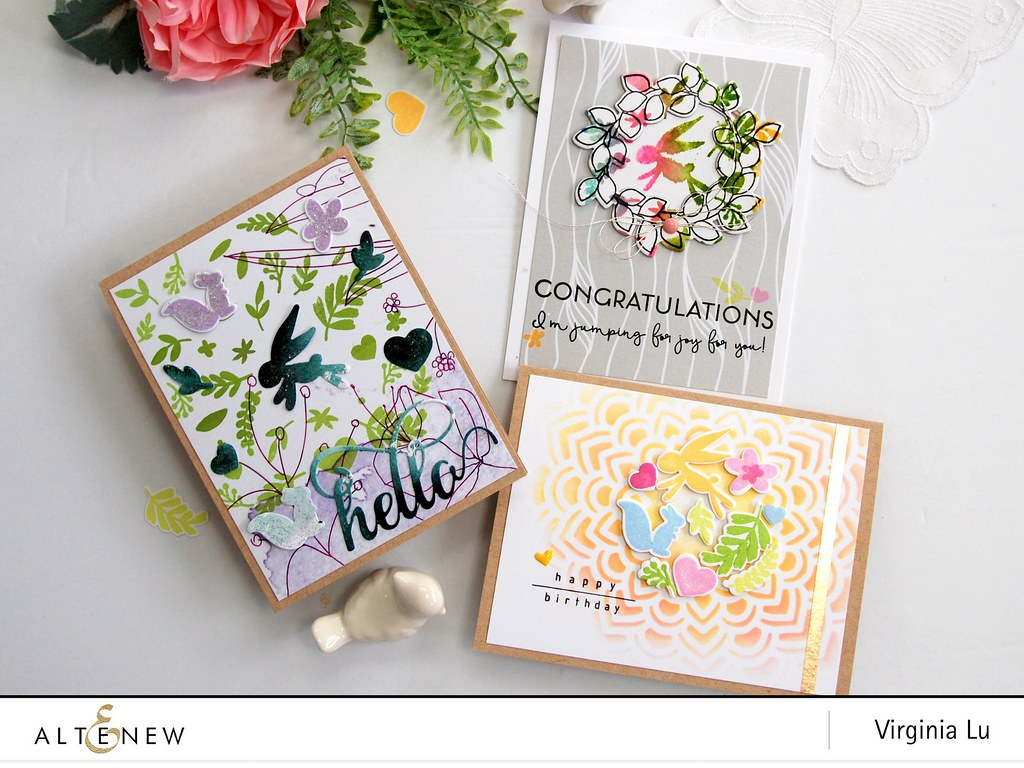 Altenew-SpringFlingStampDieBundle-Virginia#1