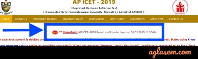 AP ICET 2019 Result Date (New)