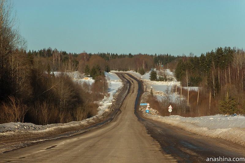 Дорога из Галича в Чухлому