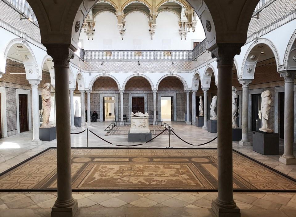 mosaico Sala de Cartago Museo Nacional del Bardo Tunez 02