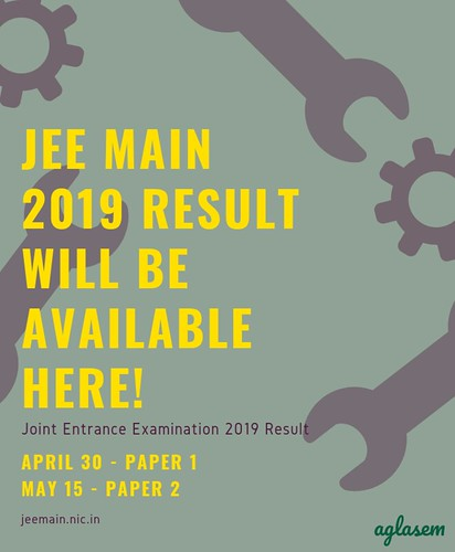 JEE Main April 2019 Result