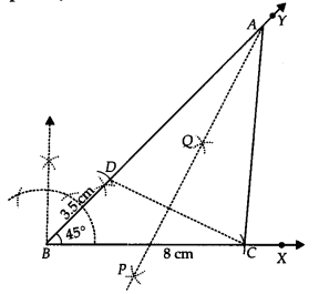 NCERT Solutions for Class 9 Maths Chapter 11 Constructions Ex 11.2 q2