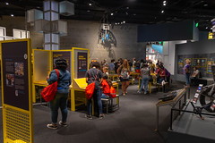 Musuem with interactive displays for kids