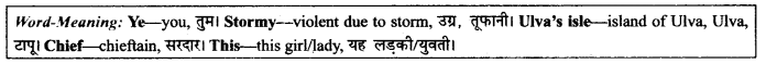 NCERT Solutions for Class 9 English Literature Chapter 9 Lord Ullin's Daughter 4