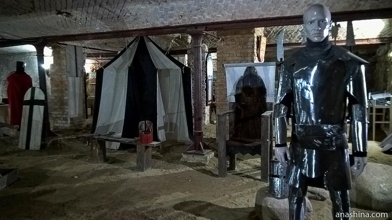 Янтарный замок, Янтарный, Калининградская область, Рыцарский зал