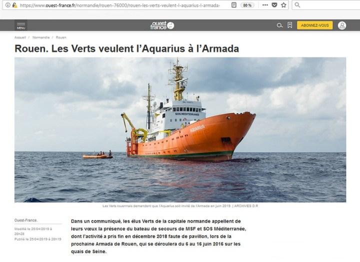 Ouest France - Aquarius