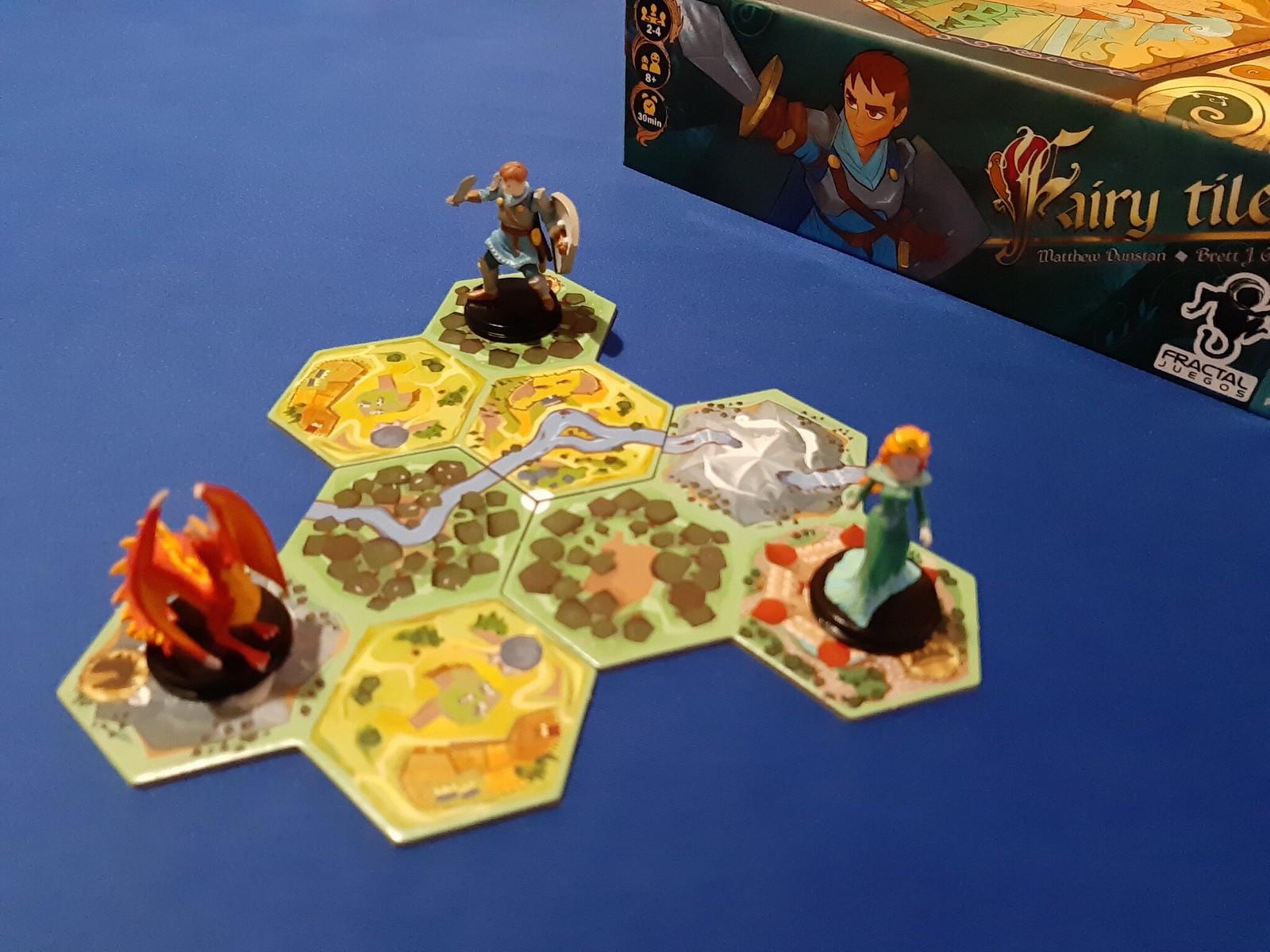 Fairy Tile juego de mesa