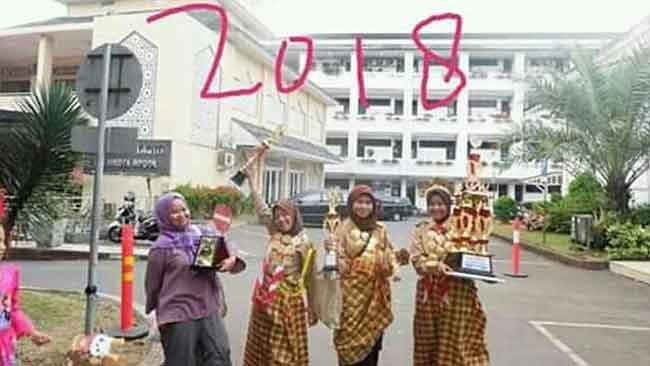 juara 1 lomba musikalisasi puisi di Bogor