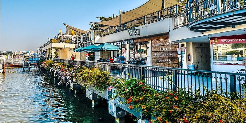 泰國曼谷市集   Tha Maharaj 瑪哈拉碼頭文青市集-大皇宮附近的碼頭市集,美食、創意服飾與可愛小物攤販的碼頭市集。