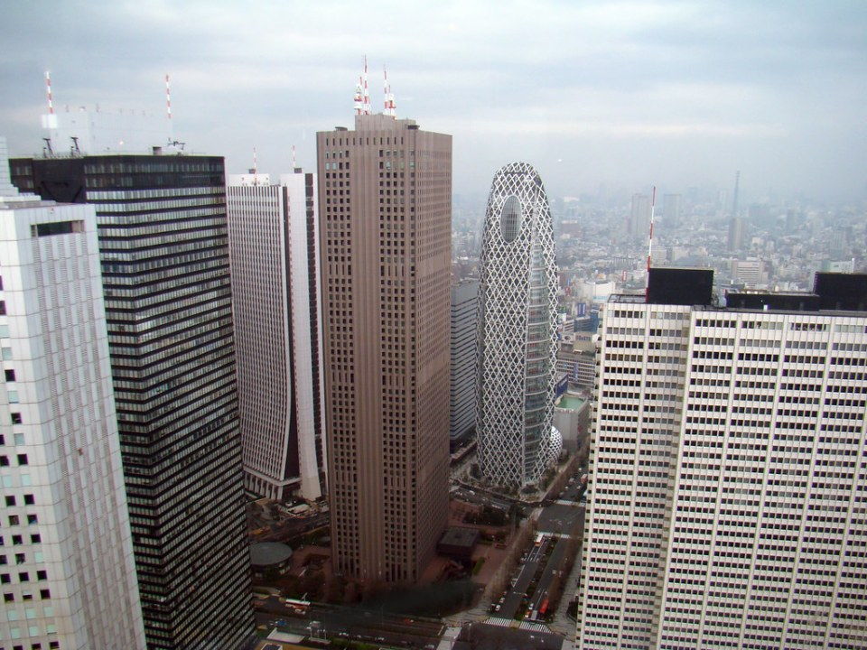 Tokio barrio de Shinjuku Japon 24