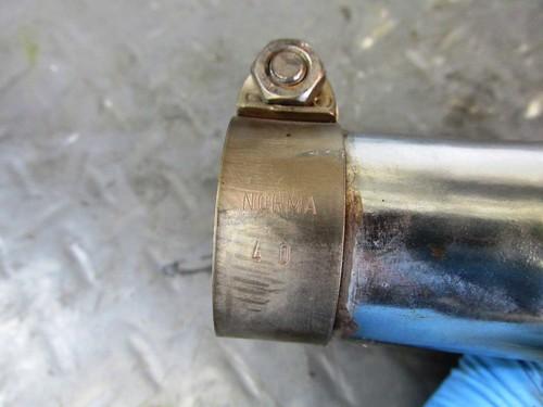 Header-to-Muffler Clamp Diameter-40 mm