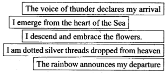 NCERT Solutions for Class 9 English Literature Chapter 12 Song of the Rain 1