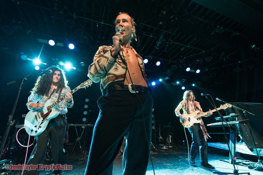 American band Jagwar Twin performing at The Commodore Ballroom in Vancouver, BC on April 19th 2019