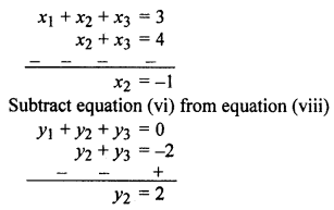 RBSE Solutions for Class 10 Maths Chapter 9 Co-ordinate Geometry Q.21.3