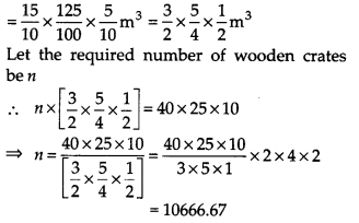 NCERT Solutions for Class 9 Maths Chapter 13 Surface Areas and Volumes Ex 13.5 Q7