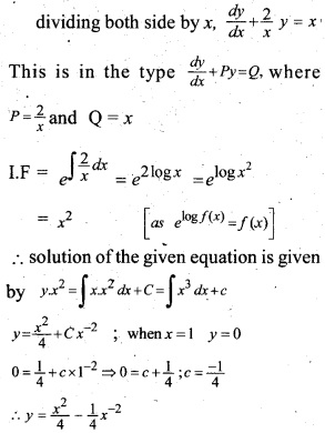 Plus Two Maths Chapter Wise Previous Questions Chapter 9 Differential Equations 8