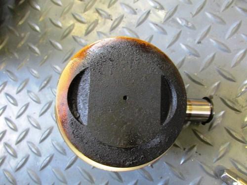 Piston Removed
