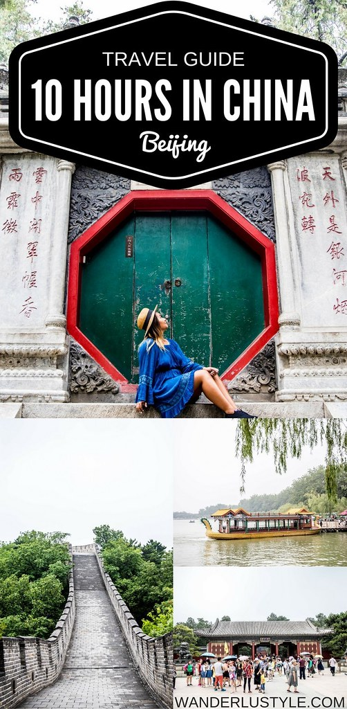 How To Spend a 10 Hour Layover in Beijing, China - Layover in China, Beijing China Tips, Beijing Travel Tips, Travel Tips China, China travel tips, beijing china things to do, things to do in china, great wall of china | Wanderlustyle.com