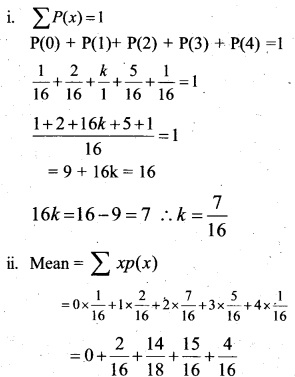 Plus Two Maths Chapter Wise Previous Questions Chapter 13 Probability 4