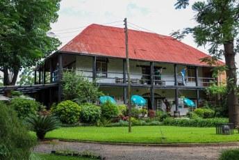 In Blantyre zijn ook niet veel dingen te zien, dit is het oudste huis van de stad, gebouwd voor de managers van de African Lakes Corporation.