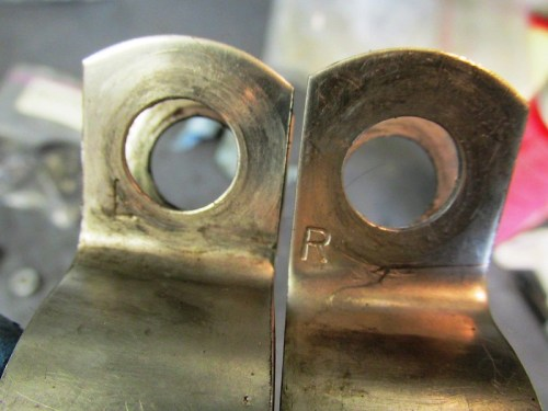 """Header Pipe Brackets Are """"Sided"""" and Marked For Side"""