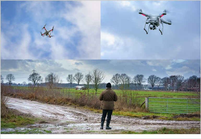 Vliegen met een drone... oefenen, oefenen, en nog eens oefenen.