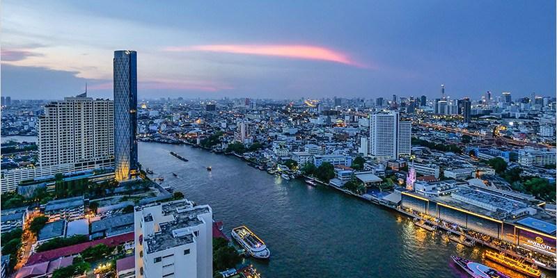泰國曼谷高空酒吧 | Three Sixty Lounge-Millennium Hilton曼谷唯一昭披耶河畔360度室內浪漫環景高空酒吧。