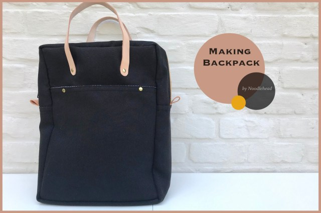 making backpack