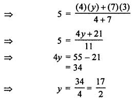 RBSE Solutions for Class 10 Maths Chapter 9 Co-ordinate Geometry Q.8.3